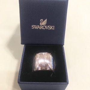 Swarovski Crystal Rosaline Nirvana Ring